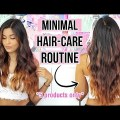 My Hair Care Routine For Long & Healthy Hair / Merchandise For Coloured Broken Hair