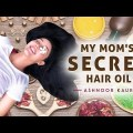 My Mother's Secret Hair Oil – Hair Care Routine | Long, Healthy & Intellectual Hair | Ashnoor Kaur