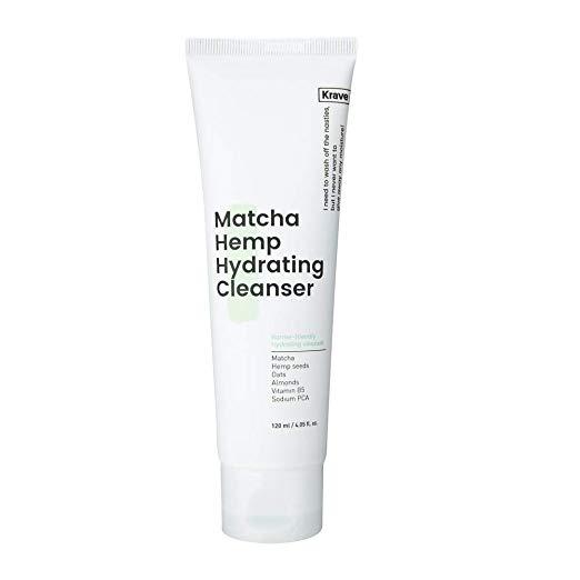 Krave Beauty Matcha Hemp Cleanser