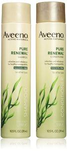 Aveeno Pure Renewal Shampoo + Conditioner