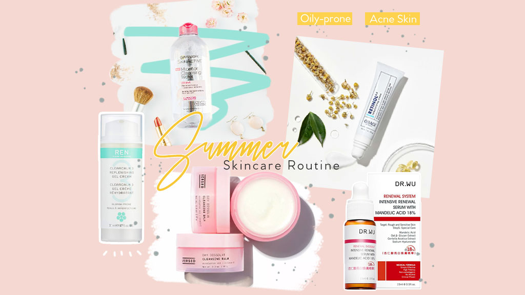 Skincare Routine For Oily Skin Acne Prone Beauty Within