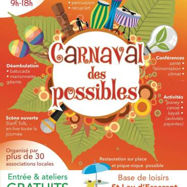 Le Carnaval des Possibles dimanche 30 septembre à Saint-Leu-d'Esserent