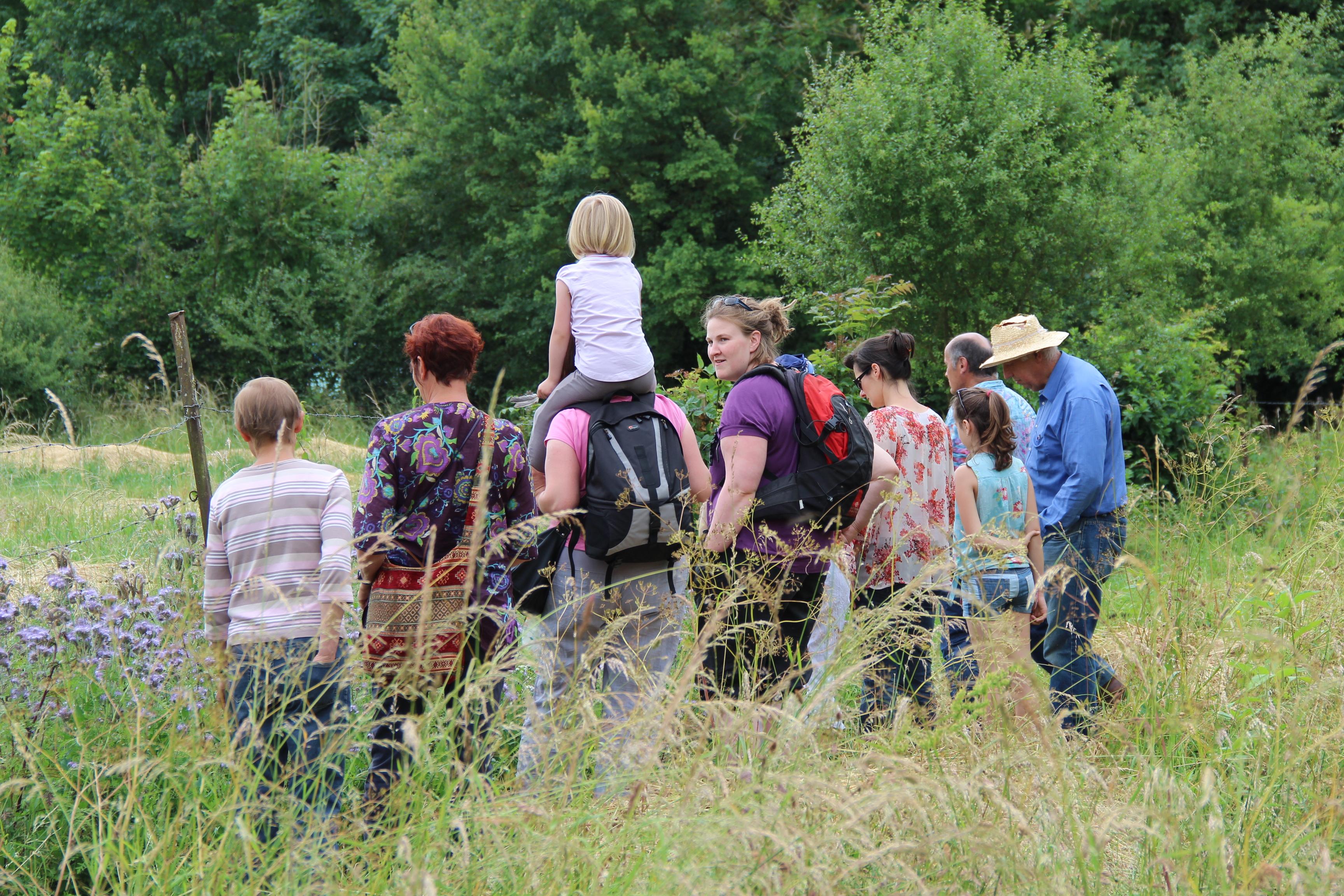 Journée de découverte du jardin partagé de l'Ecume et du jardin oasis de l'ALEP