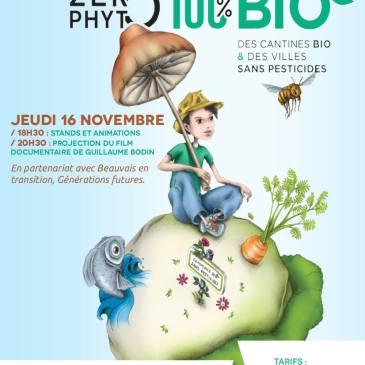 Ciné-rencontre «Zéro phyto, 100% bio» à l'ASCA