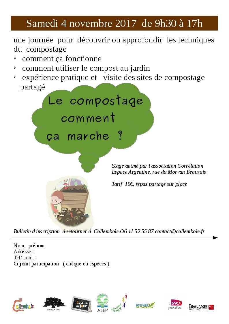 Le compostage comment ça marche ? Atelier de découverte Collembole et Correlation