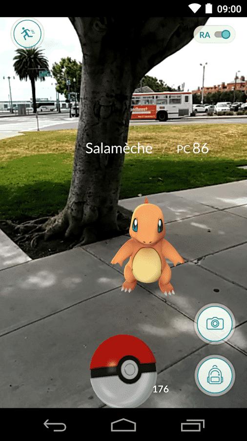 Salamèche - Pokémon Go