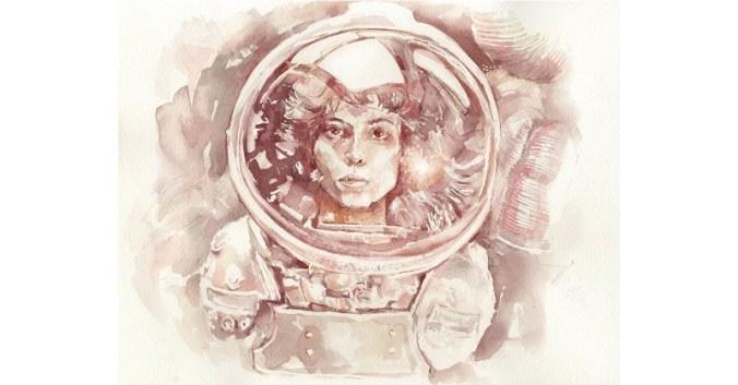 Blog Beaux-Vins dégustation oenologie vin peindre peinture Sanja Jankovic artiste Ripley Alien