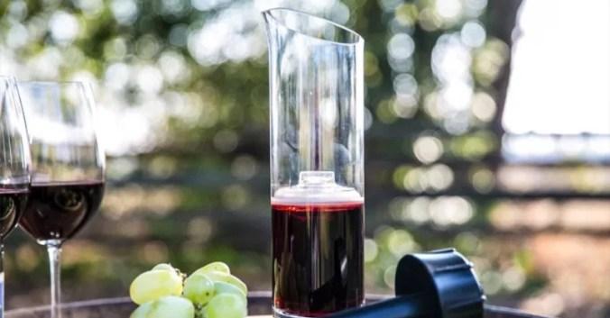 blog vin Beaux-Vins oenologie dégustation innovation carafe squirrel