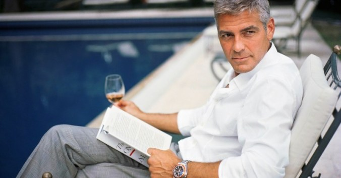 Blog vin beaux-vins oenologie dégustation sexe Georges Clooney