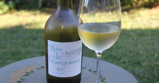 Blog vin Beaux-Vins Mas de Gourgonnier Alpilles salade caprese tomates mozarella