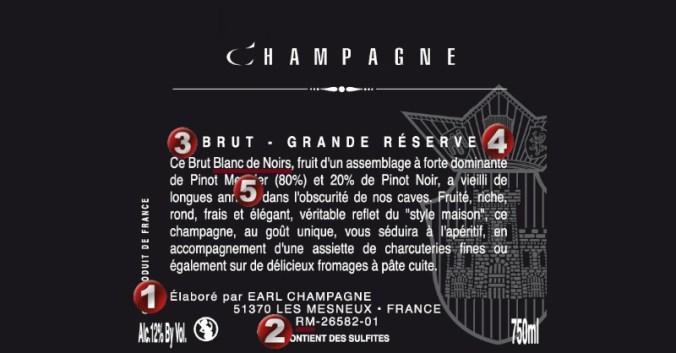 Blog vin beaux-vins oenologie dégustation vins etiquette Champagne vignoble viticole