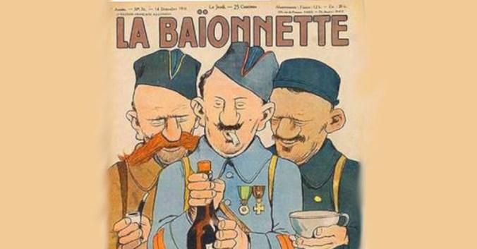 Blog vin beaux-vins oenologie dégustation père pinard baionnette guerre