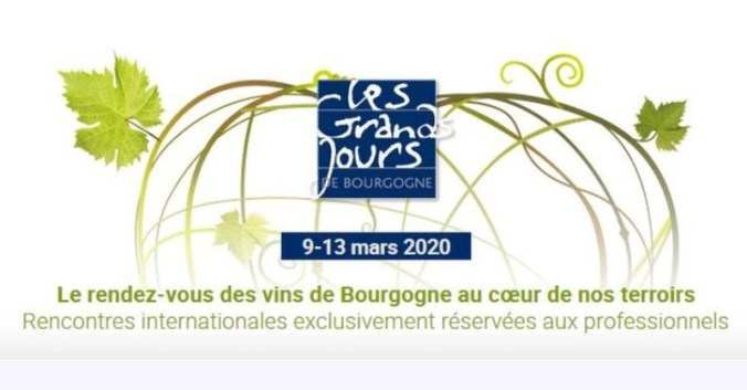 Blog vin Beaux-Vins evenements dégustation oenologie sortie Mars grands jours Bourgogne