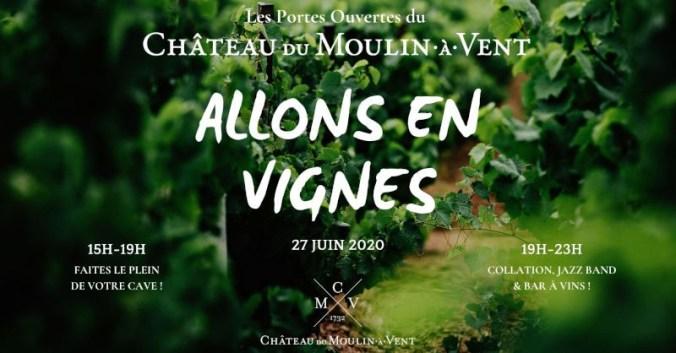 Blog vin beaux-vins allons en vignes beaujolais evenement juin