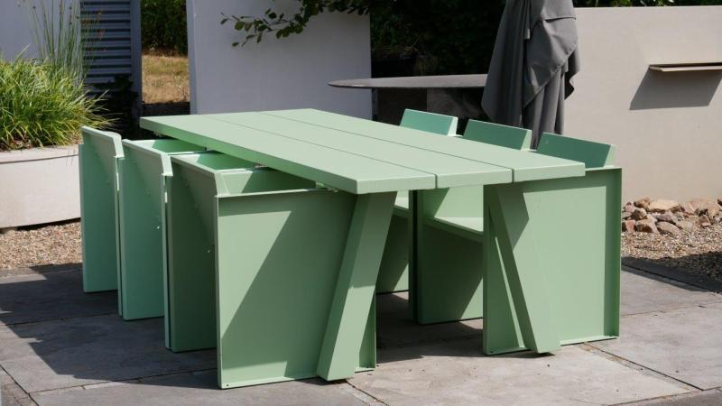 Aluminim tafels zakelijk bestellen