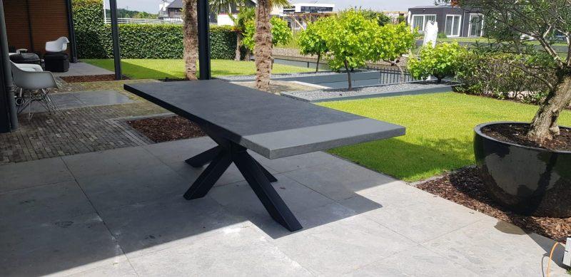 Betonlook tafel - Base 1 - Spinpoot
