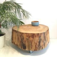 Baumstamm Couchtisch Beistelltisch   Beaver Design