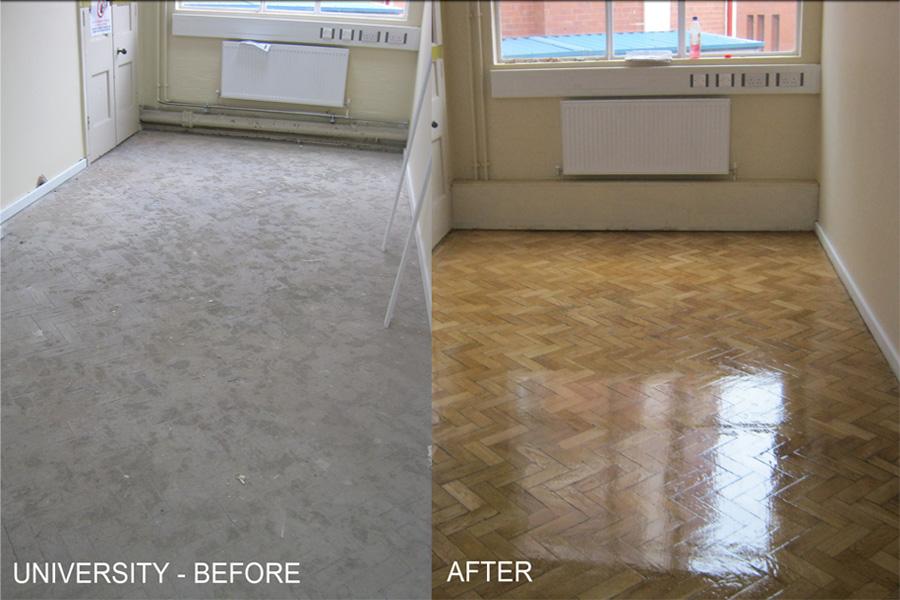 University Wood Floor Sanding