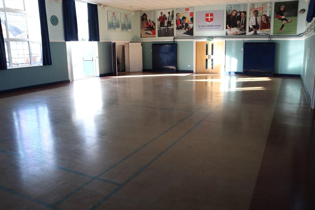 Granwood floor before