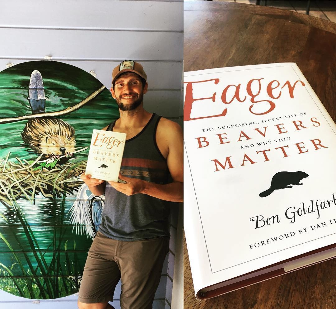 Eager and Ben Goldfarb. Credit: Ben Goldfarb