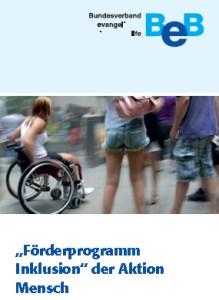 Cover Fachtag Aktion Mensch 2013