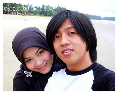Muka2 bahagia orang baru kahwin.. :p