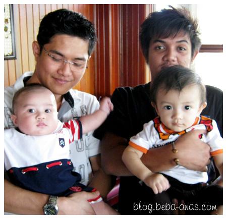 Alif, Aiman dan Pakcik2...