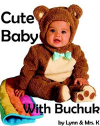 Contest cute baby with buchuk