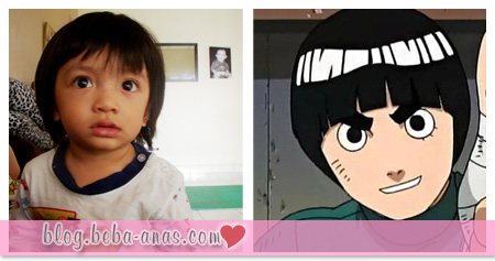 Rock Lee and Alif