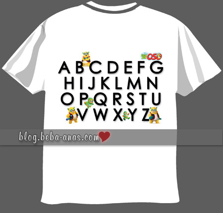 t-shirt ABC special agent oso