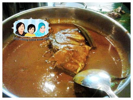 kari kepala ikan krisha fish head curry house