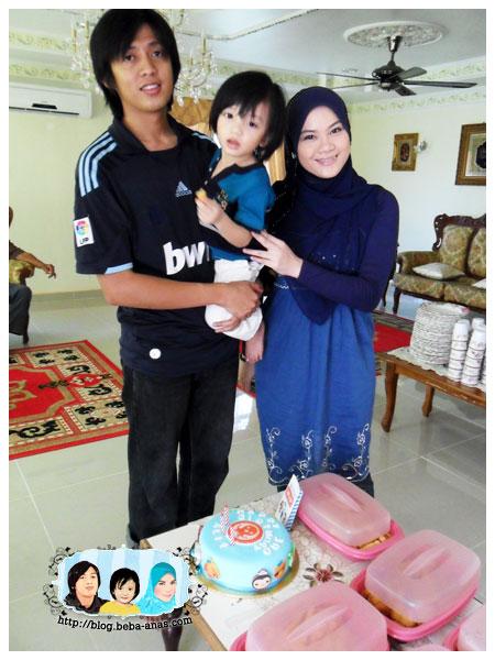Alif is 3 - Gambar Famili