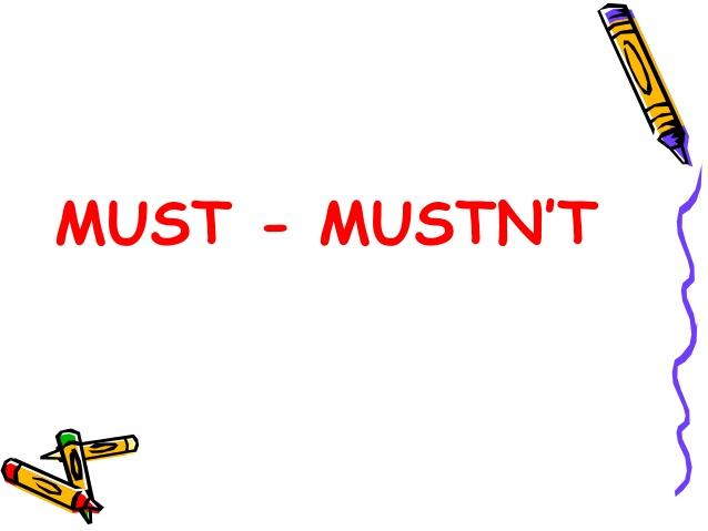 must-mustnt-1-638
