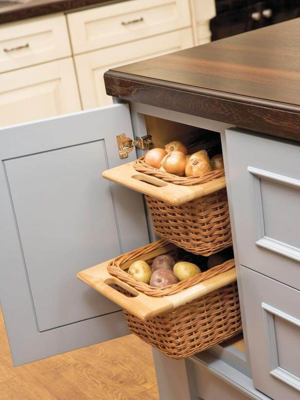kitchen storage and countertops ideas