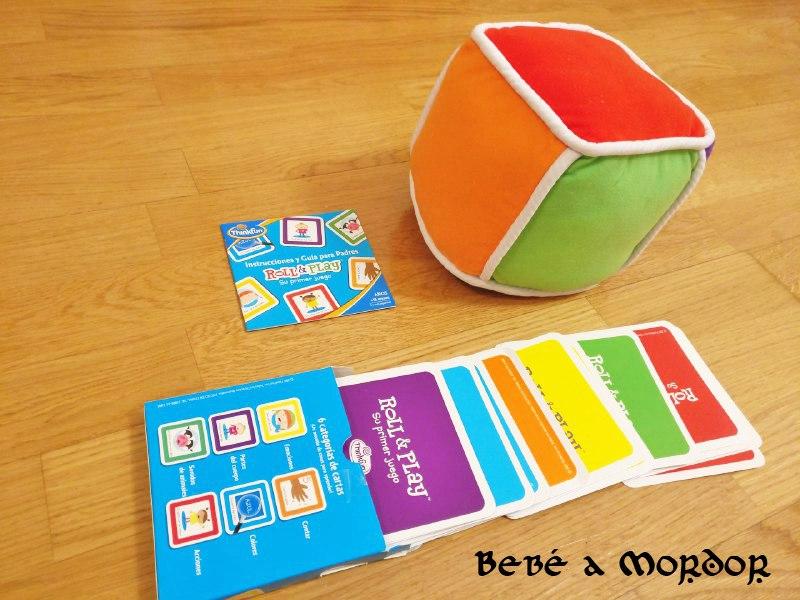 [Primeros Juegos de Mesa] Roll & Play: un juego educativo desde los 18 meses