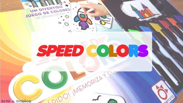 PORTADA juego de mesa Speed Colors