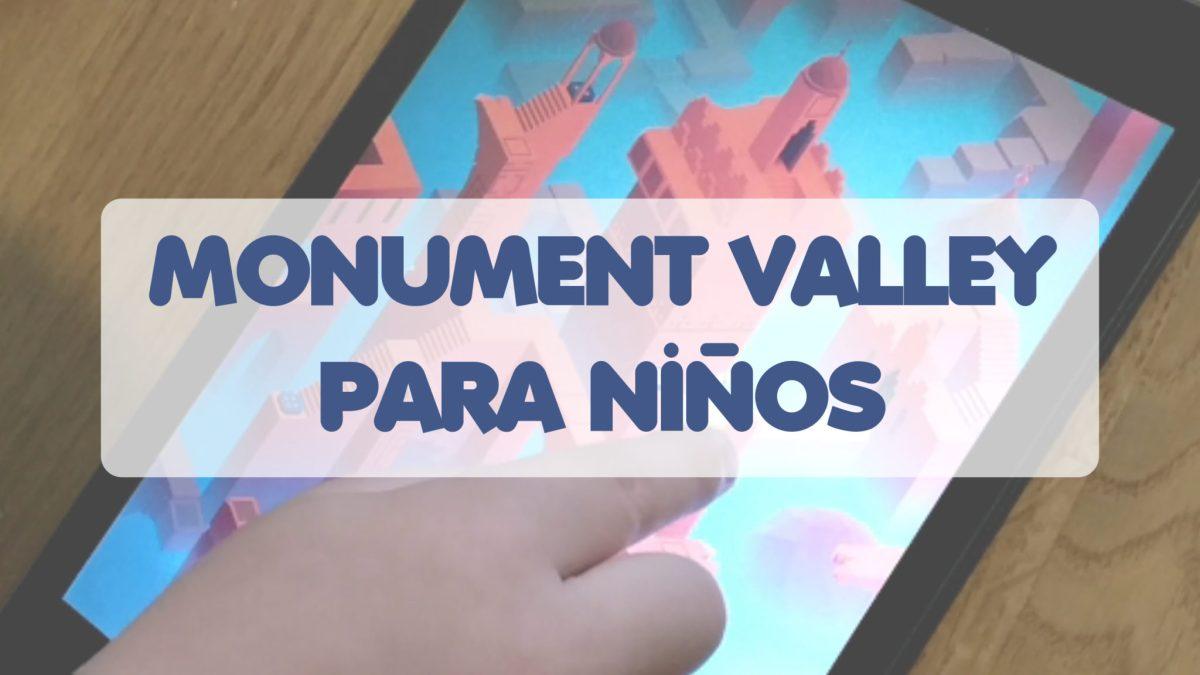 [Videojuegos con niños] Monument Valley: un mundo mágico con puzles en 3D