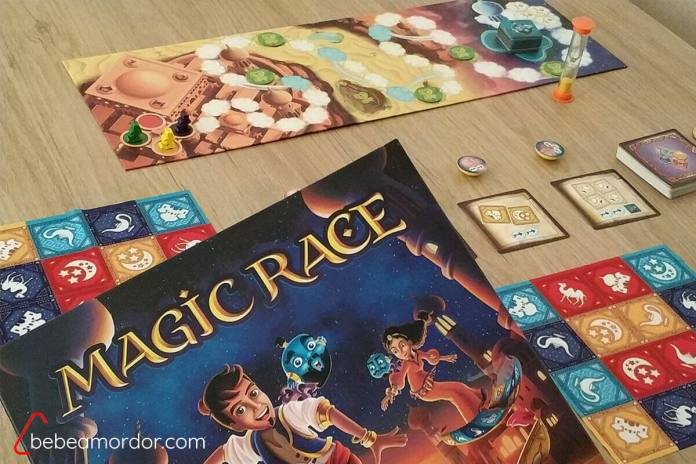 componentes de Magic Race