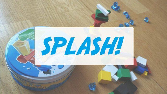 juego de mesa Splash! de Mercurio