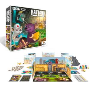 juego para educación financiera y quesos Ratland Eclipse editorial para niños y adolescentes