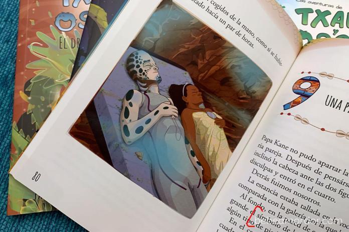 libros de la colección txano y oscar