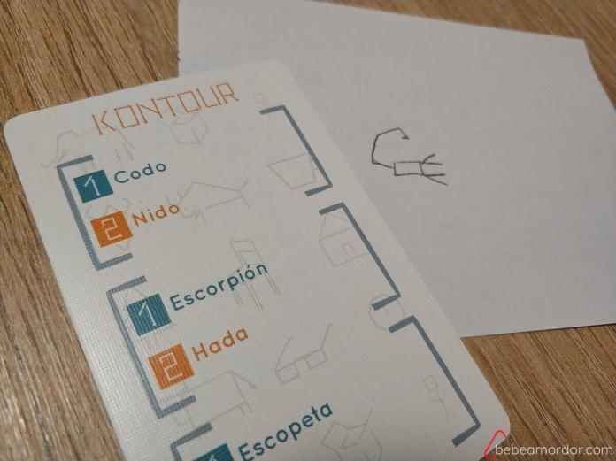 dibujar escorpion en Kontour