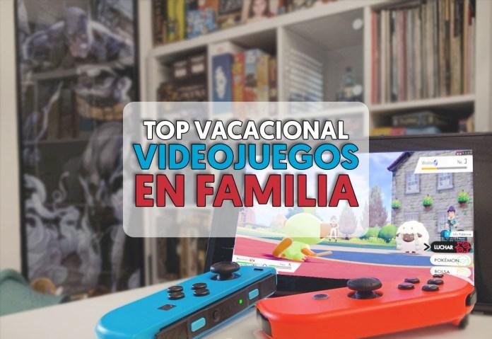 Videojuegos para jugar en familia