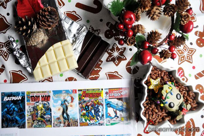ingrecdientes de receta friki de navidad para turrón casero