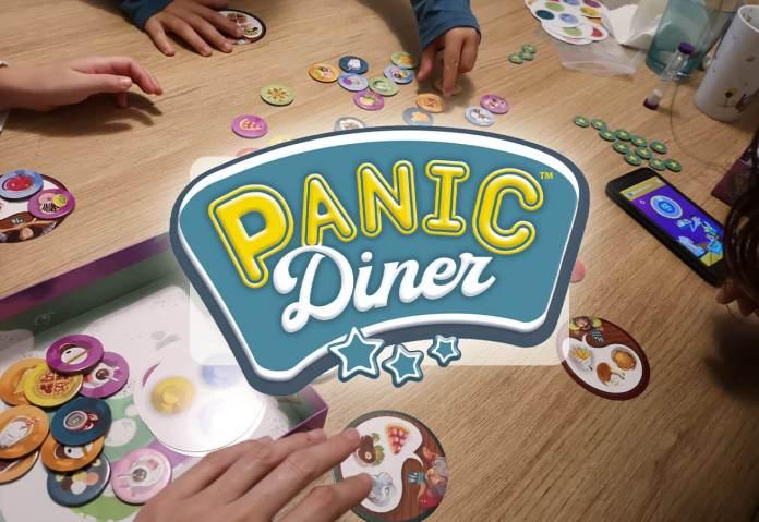 Imagen destacada de la reseña del juego de mesa Panic Diner