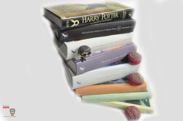 la saga de libros de Harry Potter