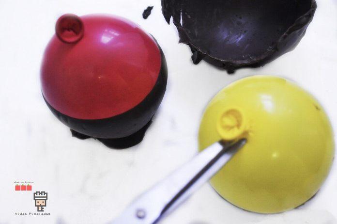 paso 2 cómo hacer caldero de chocolate