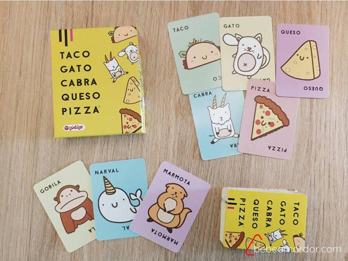 componentes juego Taco Lúdilo