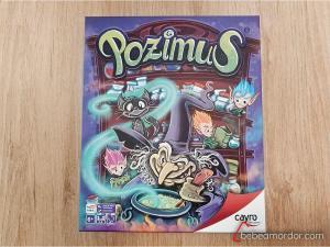Portada juego de mesa Pozimus