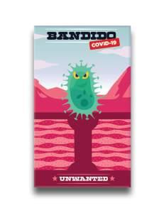 Caja de Bandido Covid19 juego imprimibles gratis